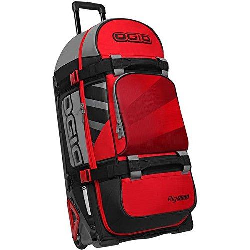 Ogio Rig 9800 Rolling Luggage Bag Red/Hub 34