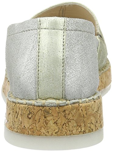 0003 0103 783104 Sughero WoMen Mjus Loafers Silver Fossile x4pq0nw7a