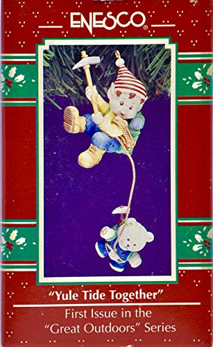 1992 - Enesco Corp - Yule Tide Together - Christmas Ornament - 1st Issue in Series - Collectible