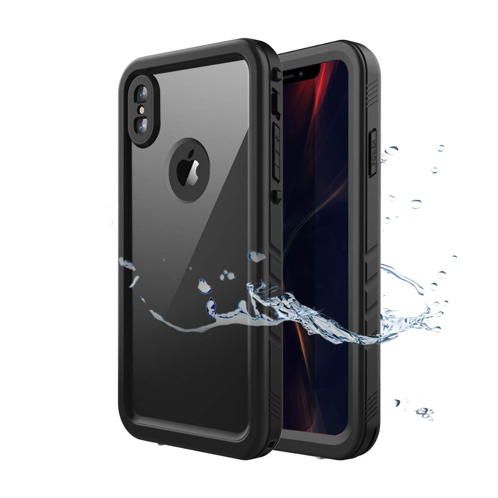 brand new 9261f 145e2 SPORTLINK iPhone Xs Max Waterproof Case, Waterproof Shockproof Snowproof  with Built-in Screen Protector Slim Case for iPhone Xs Max 2018 Release ...