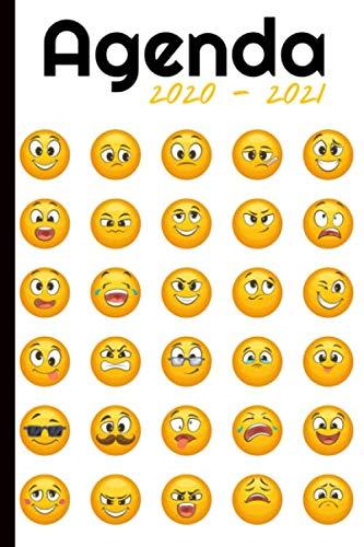 Agenda 2020   2021: Agenda semainier, Format A5 | Pour les