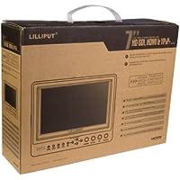 Lilliput 7665GL-70NP/HO/Y HDMI Monitor YPbPr AV 1024¡Á600+F970+LP-E6 LF249U
