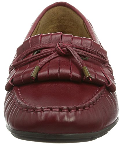 Meriden Dark Red Sebago Leather Kiltie Women's P5ztzwCq
