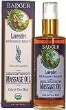 Badger Lavender Aromatherapy Massage Oil 4oz