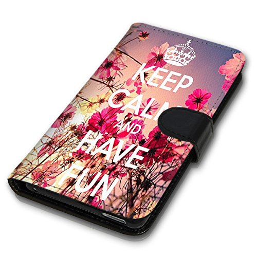 Wallet Book Style Flip Handy Tasche Case Schutz Hülle Schale Motiv Etui für Apple iPhone 4 / 4S - Design Flip MVD366