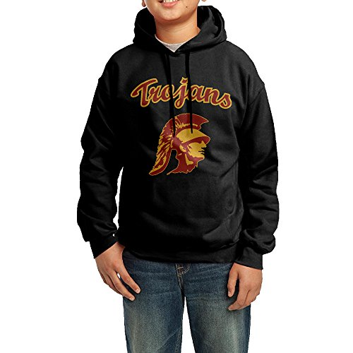 XMAS Youth University Of Southern Trojans California Pullover Hood L