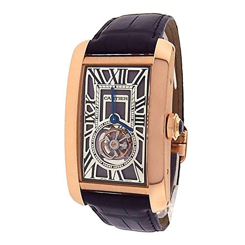 Cartier Tank Americaine mechanical-hand-wind mens Watch W2620008 (Certified Pre-owned)