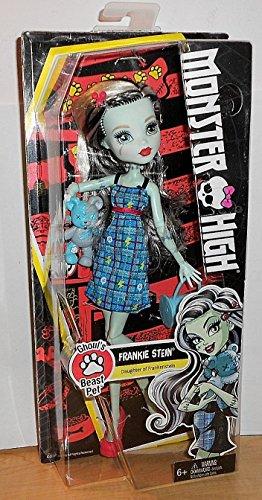 Monster High Pet (Monster High Dolls - Ghoul's Beast Pet - Frankie Stein)