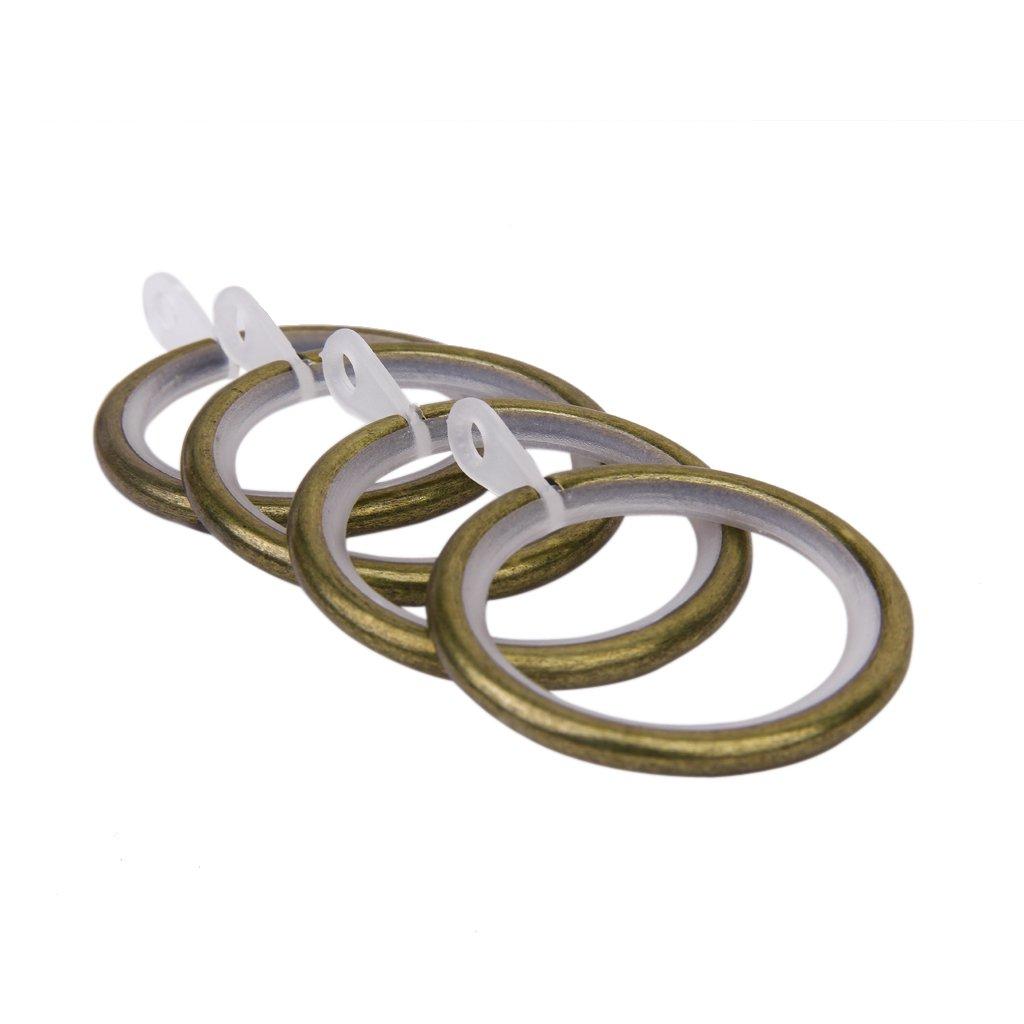 Rumore Anelli Per Tende 10pcs Metallo Silenziatore Accessori Della Tenda Riduzione - Bronzo generico SHOMPFL1286