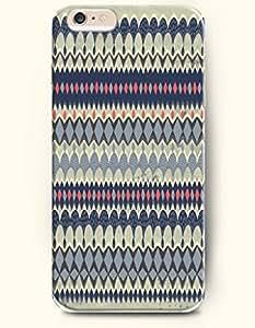 SevenArc Aztec Indian Chevron Zigzag Pattern Hard Case for Apple iPhone 6 Plus 5.5' (2014) Aztec Mayan Mosaic Design...
