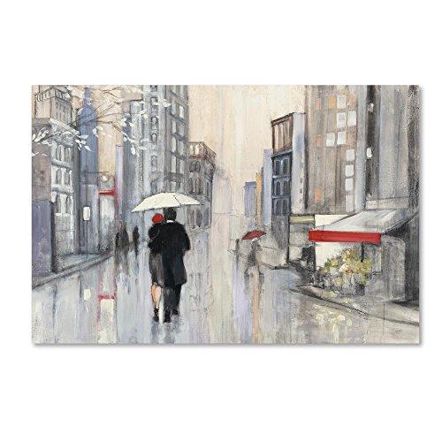 Spring Rain New York Crop by Julia Purinton, 22x32-Inch Canvas Wall Art