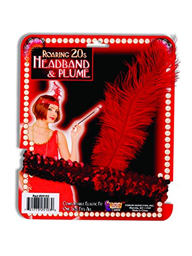 Dazzling Red Flapper Halloween Costumes - Forum Novelties Red Sequin Flapper Costume