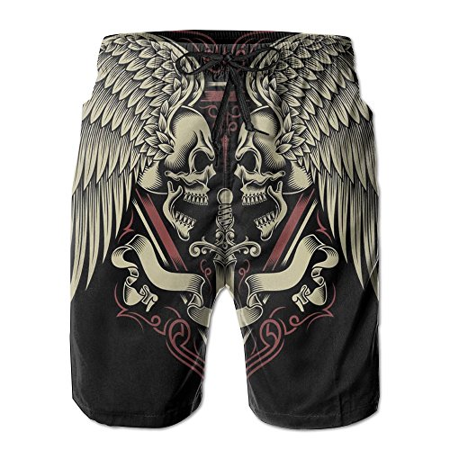 Men Sword Skull Wings Hipster Board