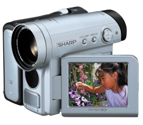 "Sharp VLZ3U MiniDV Camcorder with 2.5"" LCD and Memory Slot"