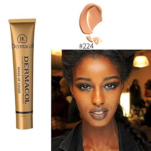 #224 Dermacol base primer corrector concealer cream makeup base tatoo consealer face foundation contour palette 30g 100% Original