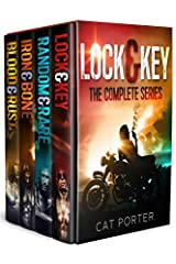 All 4 full-length novels of the thrilling, emotional Lock & Key series are now available in one boxed set. Over 1,500 pages of gritty, raw, passionate, anti-hero outlaw biker epic-ness is yours in 1 book at 1 special price!