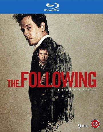 DVD : The Following (Complete Series) - 9-Disc Box Set ( The Following - Seasons 1, 2 & 3 ) [ Blu-Ray, Reg.A/B/C Import - Denmark ]