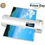 "13"" Thermal Laminator, Laminating Machine Supports Both Hot & Cold Laminating, 3-Minute Warm-up, 320mm/min Laminating Speed, Automatic Shut Off Function, Great for Document/Photo/Card (A3-White)"
