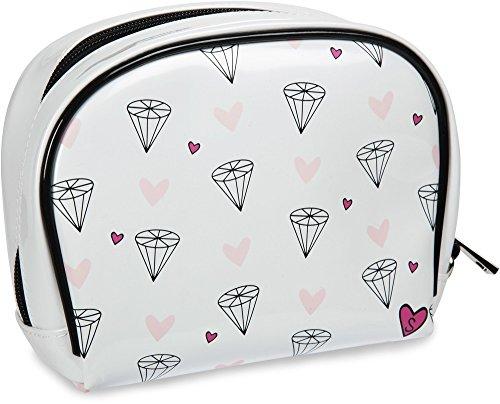 Pavilion Gift Company 71613 Philosophies-Look How She Sparkles! Waterproof Wedding Makeup Bag Wristlet, Solid by Pavilion Gift Company (Image #1)