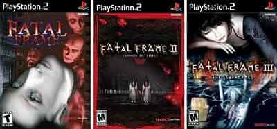 Amazon Com Fatal Frame Trilogy Complete Collection 1 I 2