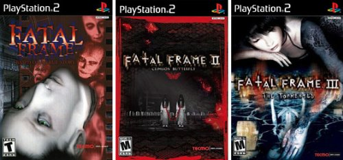 Resultado de imagem para fatal frame trilogy