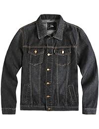 Amazon.com: Black - Denim / Lightweight Jackets: Clothing, Shoes ...