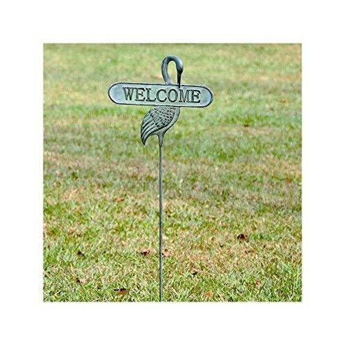 - SPI Home 33290 Welcoming Crane Garden Stake