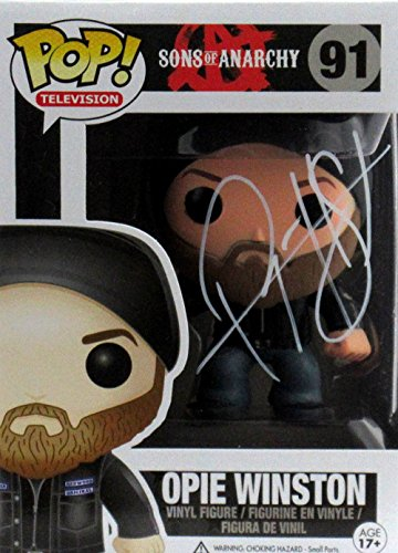 "Ryan Hurst ""Opie Winston"" Autographed/Signed Sons of Anarchy Opie Winston Funko Pop #91 Action Figure"