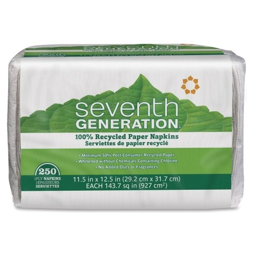 SEV13713PK - Seventh Generation 100% Recycled (Seventh Generation Recycled Napkins)