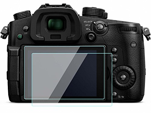 2 Pack Panasonic DMC-GH4 / DMC-GX8 Screen Protector Tempered Glass for Panasonic DMC-GH4 / DMC-GX8 Digital SLR Camera