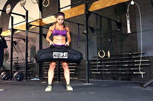 FITSHIT Sandbag for Training Workouts 50lb 110lbs Heavy Duty Durable Functional Fitness Weighted Sandbags
