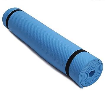 HYTGFR Premium 6Mm Grueso Yoga Estera de Ejercicios Fitness ...