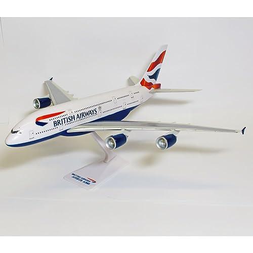 Premier Planes SM38064WB British Airways Airbus A380 1:250 clip-together model