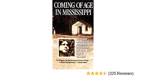 coming of age in mississippi cliff notes