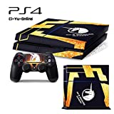 Ci-Yu-Online VINYL SKIN [PS4] Mobile Suit Gundam Unicorn UC #3 Banshee Black Whole Body VINYL SKIN STICKER DECAL COVER for PS4 Playstation 4 System Console and Controllers For Sale