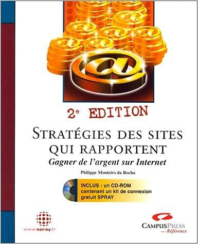 Livre gratuits Stratégies des sites qui rapportent, Gagner de l'argent sur internet epub, pdf