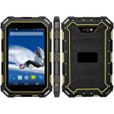 HiDON Rugged Industrial Tablet IP68 7.0 Android 5.1 CPU MT6735 Quad-core 1.3GHz HD 1280x800 2GB RAM +16GB ROM Waterproof Dustproof and Shockproof Fully Rugged Tablet