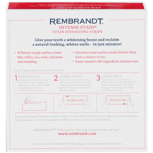 Rembrandt Intense Stain Dissolving Strips, 56 Count