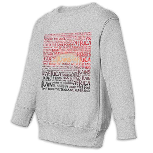 Toddler Juvenile Africa - Toto Crew Neck Sweatshirt Gray 4T