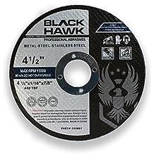 "4-1//2/"" X 3//64/"" X 5//8/""-11 Type 42 HUBBED Metal Cut Off Wheels Dep Ctr 5pc Pro"