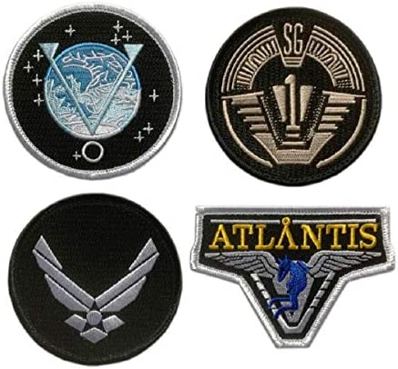 Tactical Stargate SG-1 Project Earth Atlantis U.S.S Odyssey Cosplay Tactique /Écusson Brod/é Titan One Europe