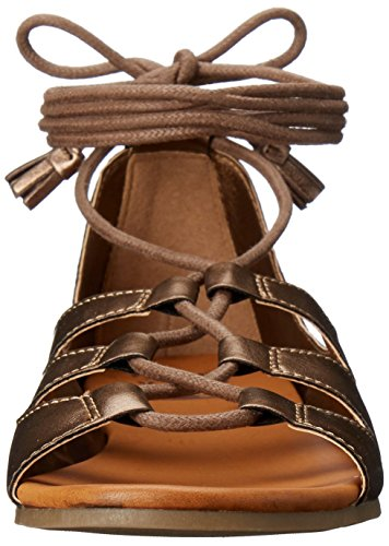 Billabong Women's Break Free Gladiator Sandal, Antique Copper, 6.5 UK Antique Copper