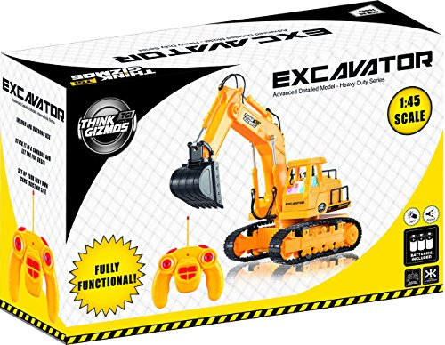 Remote Control Toy Excavator Construction Vehicle TG643