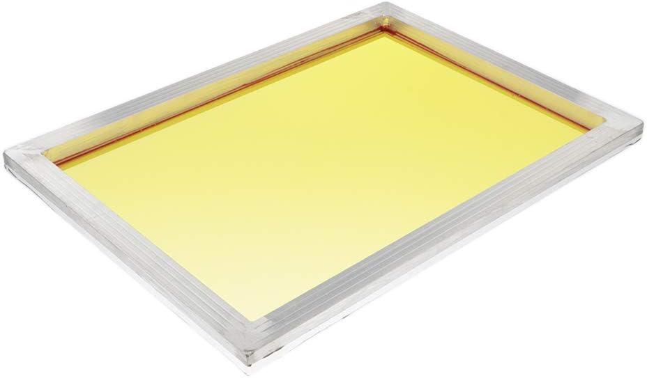 Cadre en Soie dimpression d/Écran en Aluminium Maille du Cadre dimpression de Soie /Écran SDENSHI /Écrans de S/érigraphie du Cadre 20x30cm 77T