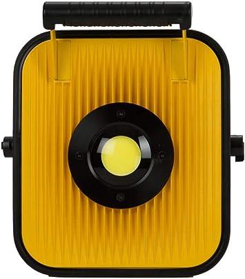 Proyector portátil de Obra LED – 20 W – con batería de Litio y ...