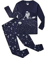 Dolphin&Fish Pajamas Space Little Boys Pajamas Sets 100% Cotton Clothes Toddler Pjs Kids