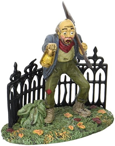 Department 56 Village Halloween Scary Gravedigger Accessory Figurine]()