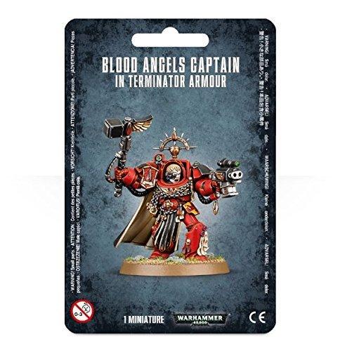 Warhammer 40k Blood Angel Captain in Terminator Armour by Warhammer