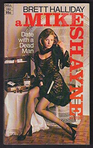 Brett Halliday: Date with a Dead Man 1st pb ed 1974 GGA model ()