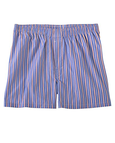 Fine Short Stripe (Bill's Khakis University Stripe Boxer Shorts (medium, ocean))